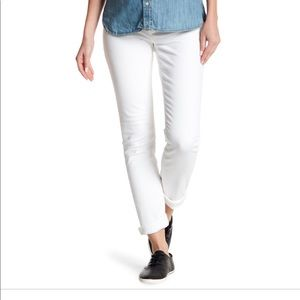 J Brand Mama J maternity jeans in blanc